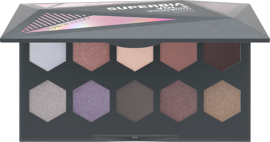 Тени для век Superbia Vol. 2 Frosted Taupe Eyeshadow Edition Catrice